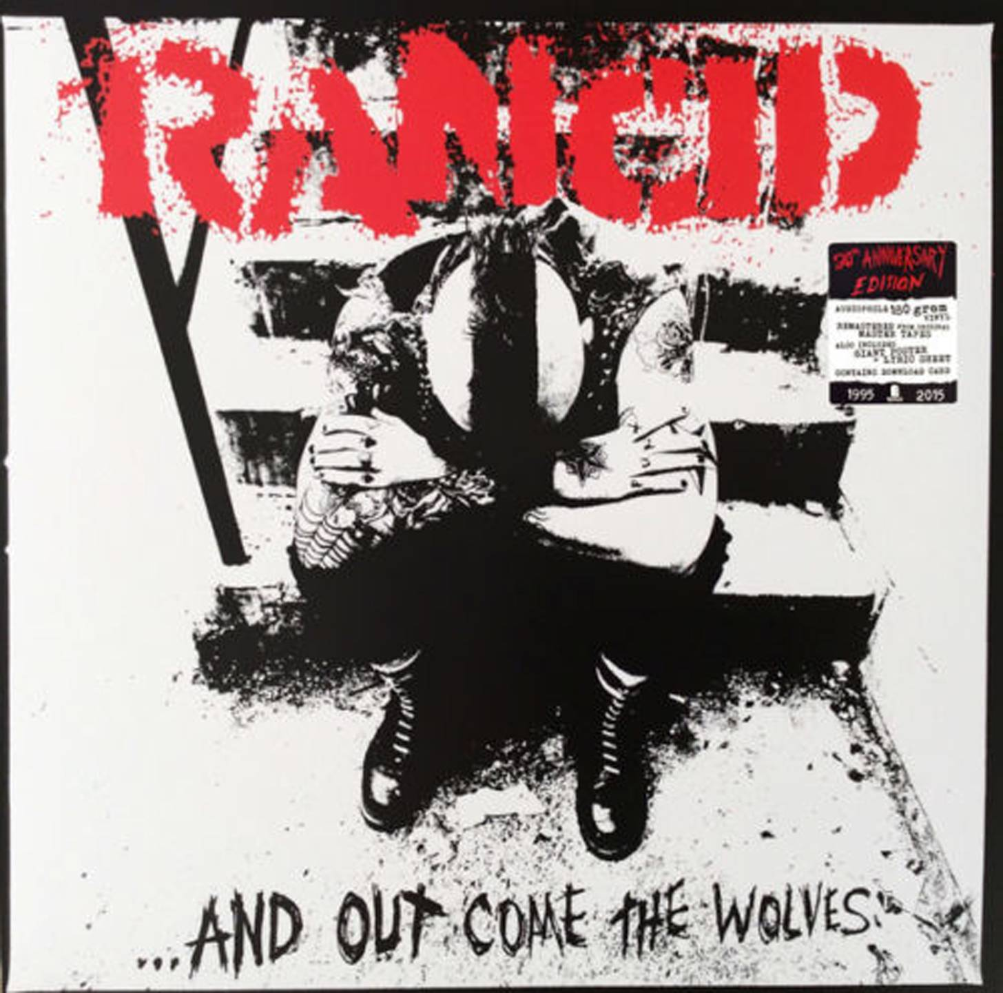 RANCID - AND OUT COME THE WOLVES (20th Anniversary) LP